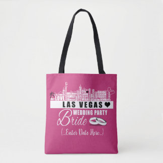Vegas Wedding Gift Ideas - Bride Wedding Bag