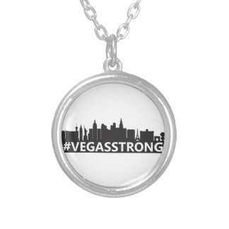 vegasstrong silver plated necklace