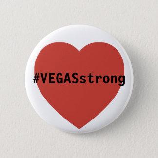 #vegasSTRONG Tribute  |  Prayers For Las Vegas 6 Cm Round Badge