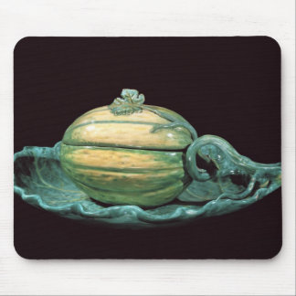Vegetable dish in the form of a pumpkin mouse pad