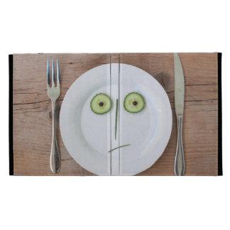 Vegetable Face iPad Folio Cases