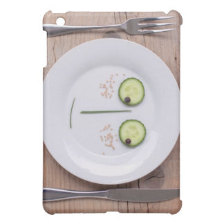 Vegetable Face iPad Mini Cover
