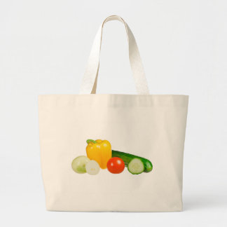 Vegetable isolated canvas bag