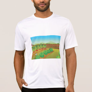 Vegetable Patch Mens Active Tee