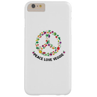 Vegetable Veggie Peace Sign  Vegan Barely There iPhone 6 Plus Case