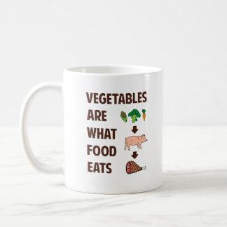 Vegetables Are What Food Eats Coffee Mug