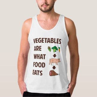 Vegetables Are What Food Eats Singlet