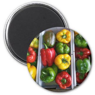 Vegetables at the Amish Market Fridge Magnet