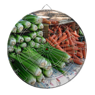 vegetables dartboard