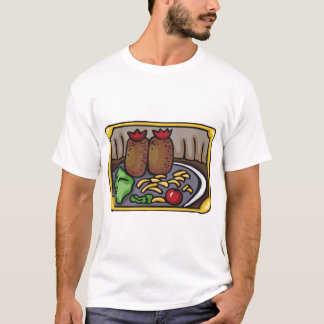 Vegetables On A Plate Mens T-Shirt