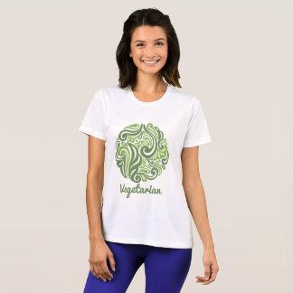Vegetarian emblem Women's Sport-Tek Competitor T-S T-Shirt