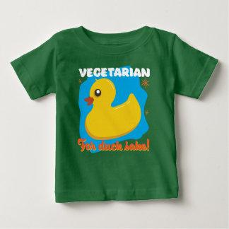 Vegetarian for Duck Sake Baby T-Shirt