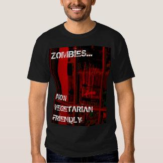 Vegetarian Friendly Zombies tee