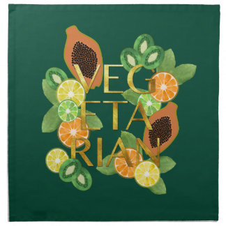 Vegetarian Fruit Napkin