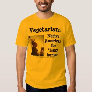 Vegetarian/Lousy Hunter T Shirt