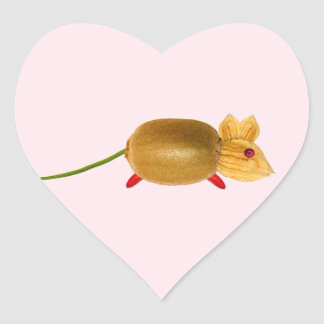 Vegetarian mouse, ideally tons of ADDs your own te Heart Sticker