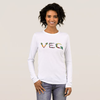 Vegetarian or Vegan Long Sleeve Tee