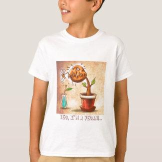 vegetarian plant funny cartoon T-Shirt