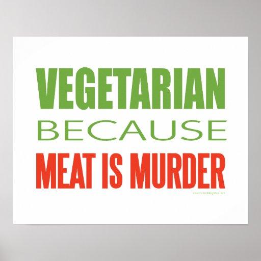 Vegetarian Posters