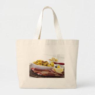 Vegetarian Potato Dish Cloth Shopping Bag