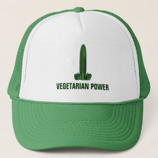 Vegetarian Power Trucker Hat