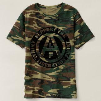 Vegetarian Vegan Support Animal Liberation Front T-Shirt