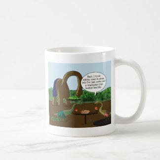 Vegetarian vs. Carnivore Coffee Mug