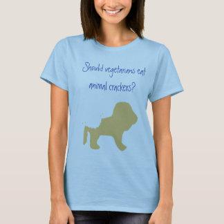 Vegetarians Eat Animal Crackers? T-Shirt