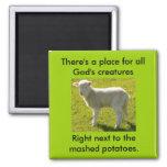 Vegetarians Nightmare Fridge Magnet