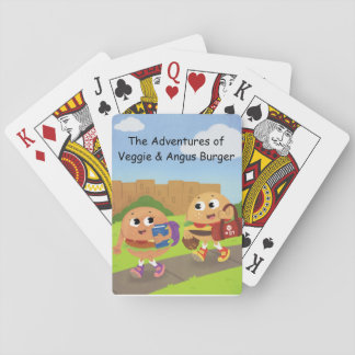 Veggie and Angus Playing Cards