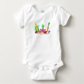 Veggie Friends for Baby Bodysuit