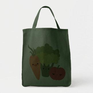 Veggie Friends Grocery Tote Bag
