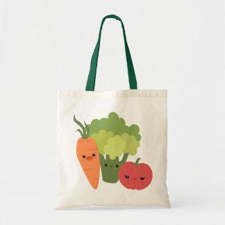 Veggie Friends Budget Tote Bag