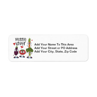 Veggie Lover Return Address Label