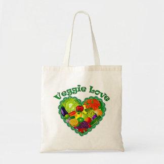 Veggie Lover Tote Budget Tote Bag