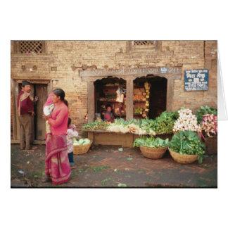Veggie Market Card