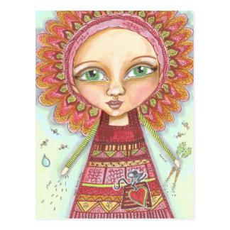 Veggie Patch Fairy.jpg Postcard
