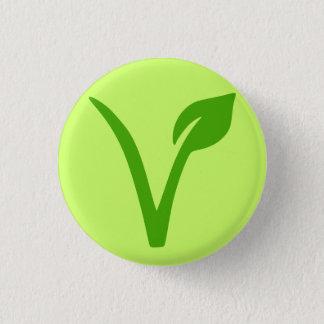 veggie pride,vegan,vegetarian,vegetarians,vegans 3 cm round badge