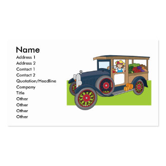 Veggie Truck Business Card Template
