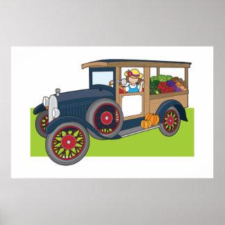 Veggie Truck Poster