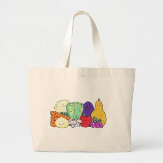 Veggies Canvas Bags