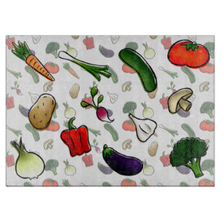 Veggies Cutting Board