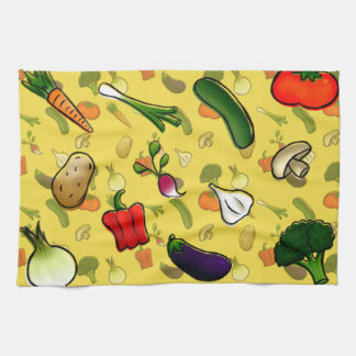 Veggies Kitchen Towl Tea Towel