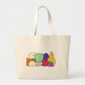 Veggies Large Tote Bag