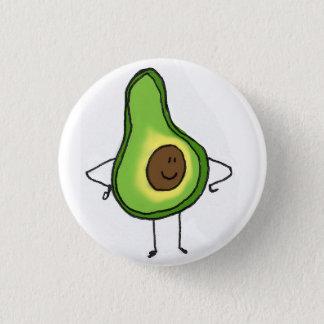 Veggies Save The Day Avocado Button