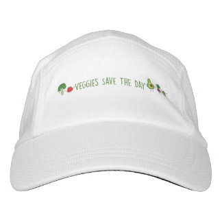 Veggies Save The Day Running Hat