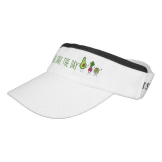 Veggies Save The Day Visor