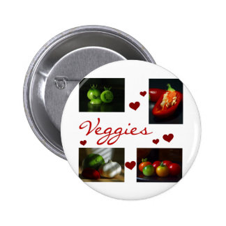 Veggies T-shirts and Gifts 6 Cm Round Badge