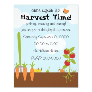 Vegtable Garden Card