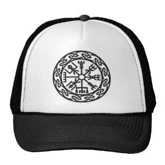 Vegvísir, Iceland, Traveler's Charm, Protection Mesh Hats